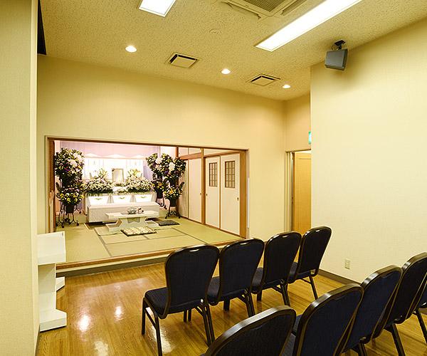 35名までのの家族葬に適した式場「南十字」
