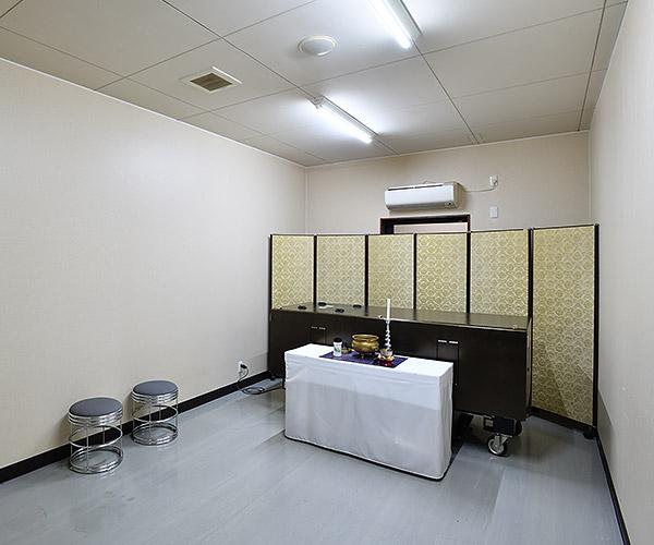 病院等からの直接安置も可能な安置専用室
