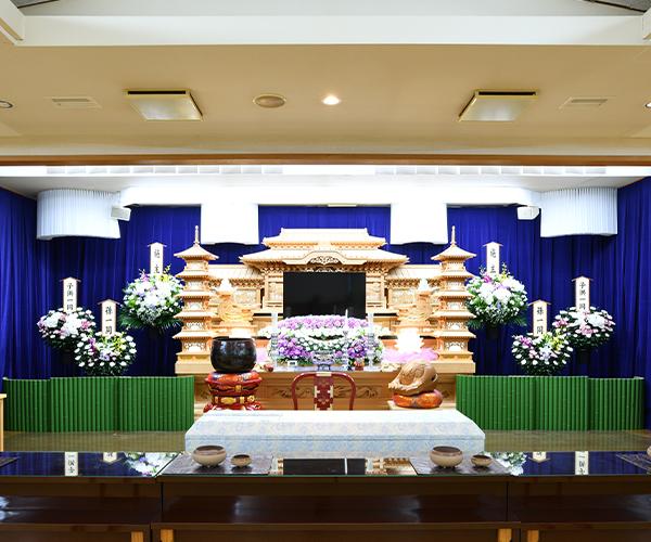 こころ斎苑 牛久の感動が広がる「祭壇生花」