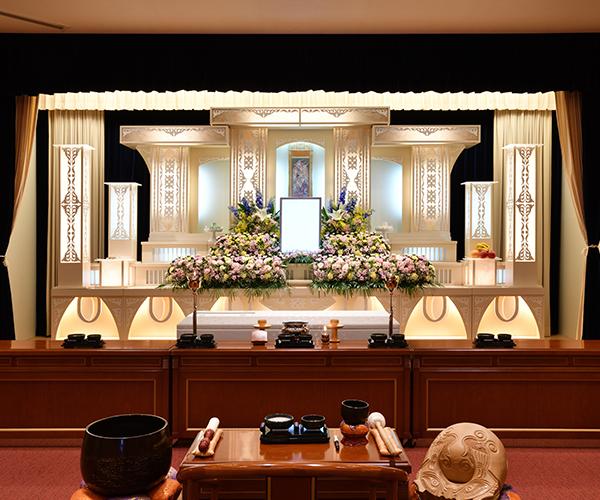こころ斎苑 福島西の感動が広がる「祭壇生花」