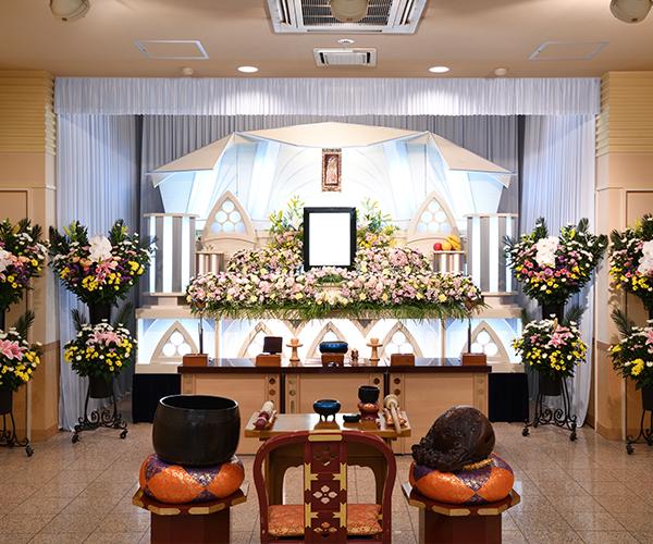 こころ斎苑 伊達の感動が広がる「祭壇生花」