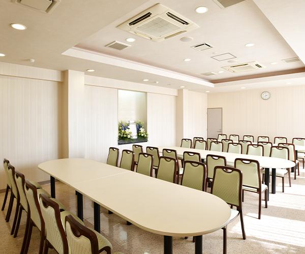 こころ斎苑 黒岩南の会食室