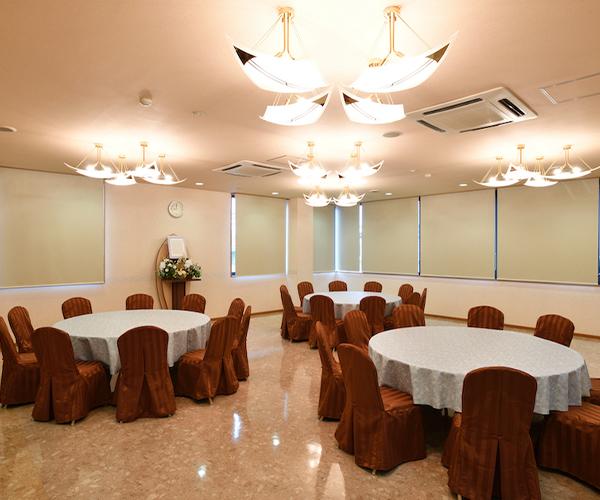 こころ斎苑 会津の会食室