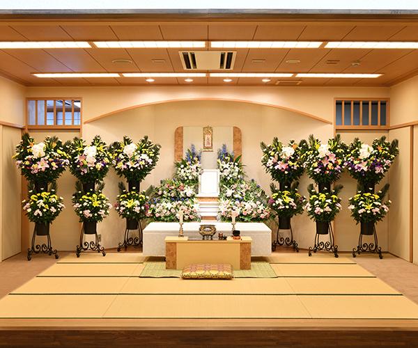 こころ斎苑 まつかわの感動が広がる「祭壇生花」