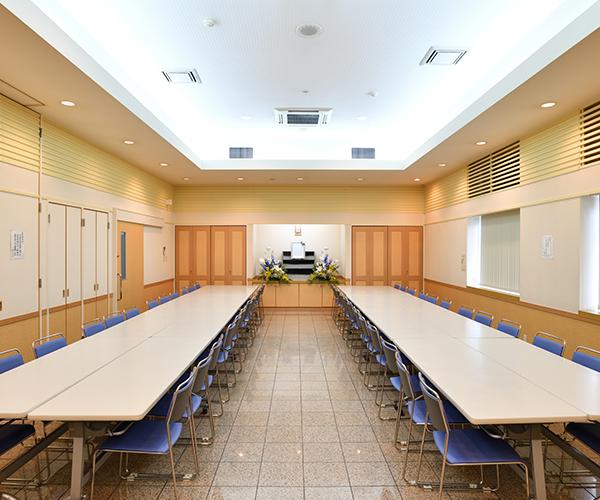 こころ斎苑 伊達の会食室