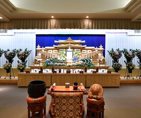 こころ斎苑 掛田の感動が広がる「祭壇生花」