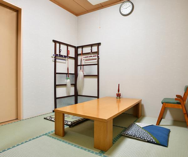 こころ斎苑 会津の導師控室
