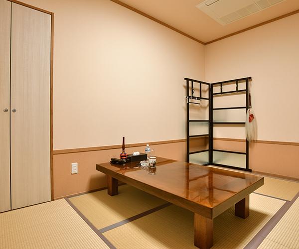 こころ斎苑 福島西の導師控室