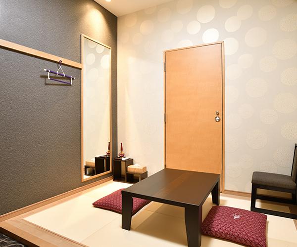 こころ斎苑 福島中央4階の導師控室