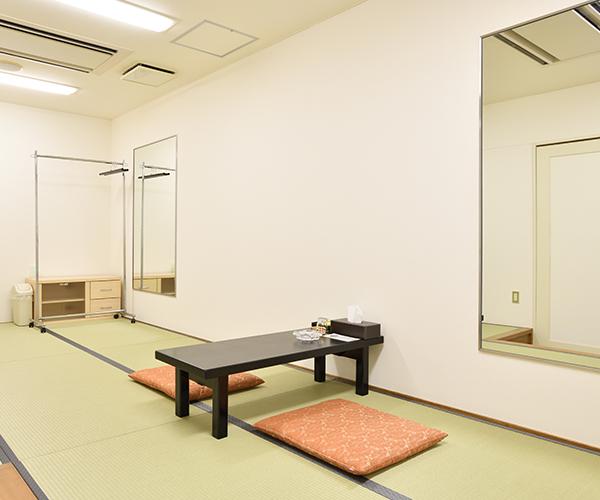 こころ斎苑 三春の導師控室