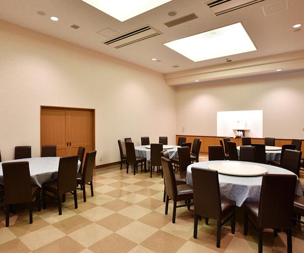 こころ斎苑 門田の会食室
