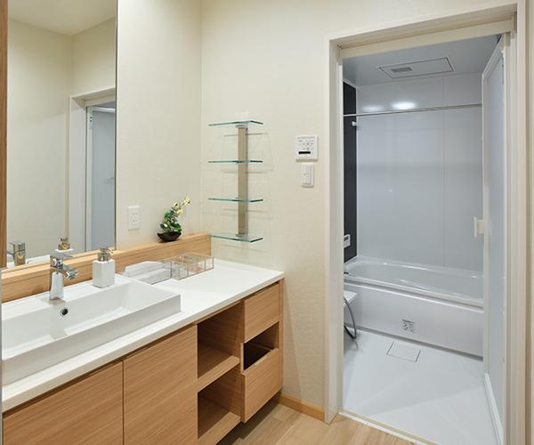 こころ斎苑 SOU取手のバスルーム