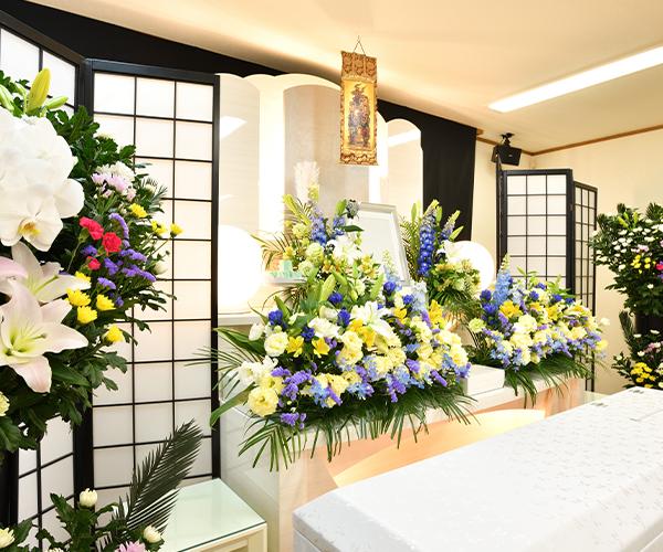 こころ斎苑 きずなの感動が広がる「祭壇生花」
