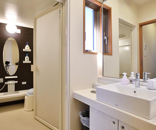 こころ斎苑 福島西のバスルーム