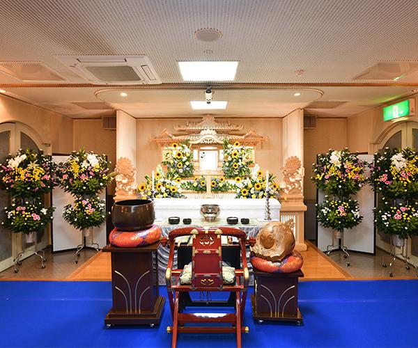 こころ斎苑 三春の家族葬式場(和室)