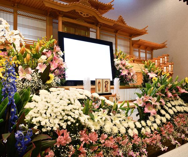 こころ斎苑 門田の感動が広がる「祭壇生花」