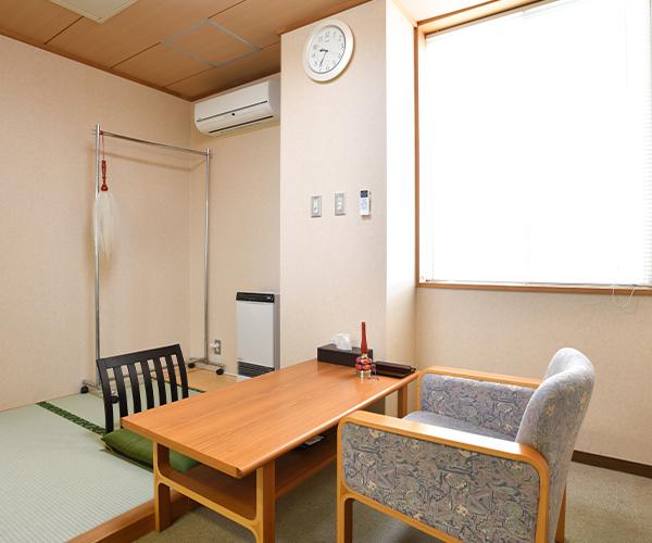 こころ斎苑 久留米の導師控室