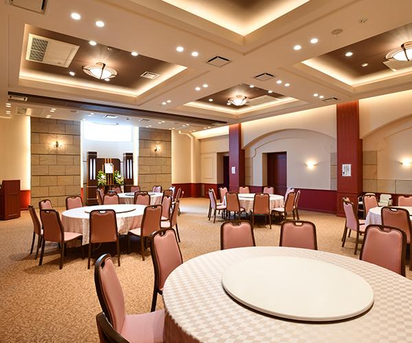こころ斎苑 福島西の会食室