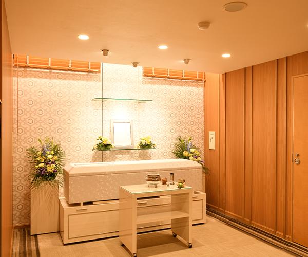 こころ斎苑 福島中央4階の安置控室