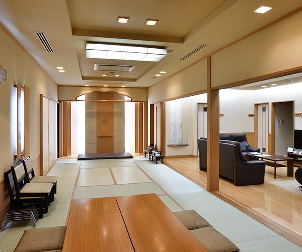 こころ斎苑 鎌田の遺族控室