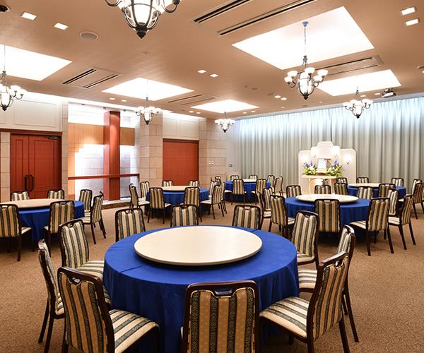 こころ斎苑 鎌田の会食室