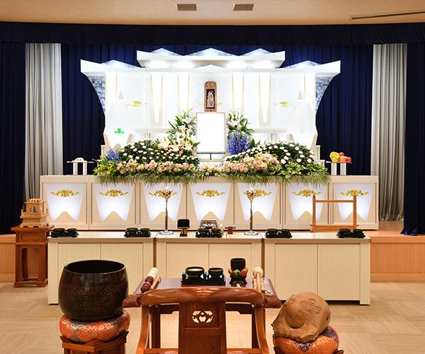 家族葬にも適したこころ斎苑 鎌田「椿ホール」